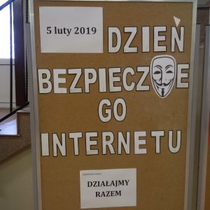 """Czytaj więcej: 5 lutego 2019 r. - Dzień Bezpiecznego Internetu """"Działajmy razem!"""""""