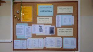 Czytaj więcej: Wieczorek poetycki w bibliotece szkolnej
